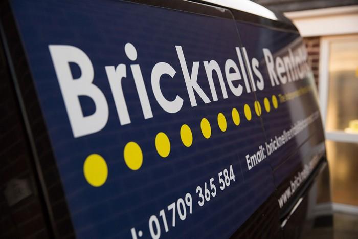 Bricknells Rentals van